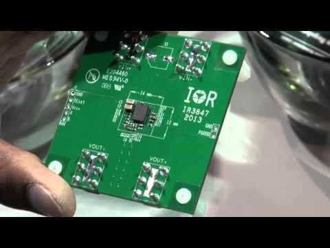 International Rectifier explains their latest SupIRBuck integrated DC/DC converters at APEC 2013