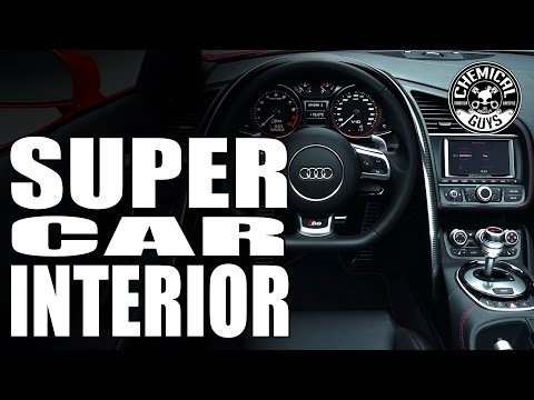 How To Clean And Detail Exotic Supercar Interiors - Audi R8 - Chemical Guys