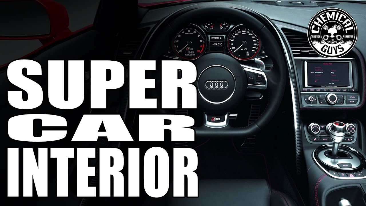 How To Clean And Detail Exotic Supercar Interiors Audi