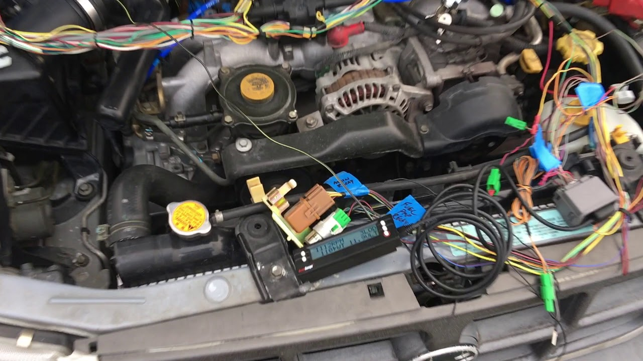 small resolution of vw subaru swap harness test 99 sohc ej25