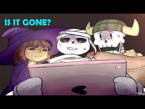 Sans, Frisk, Papyrus Play a Special Game For Halloween (Undertale Comic & Animation Dubs)