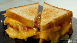 Сэндвич с омлетом - Рецепты от Со Вкусом