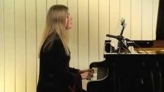 J.S. Bach DIE KUNST DER FUGE Canon per Augmentationem in Contrario Motu. Ann-Helena Schlüter