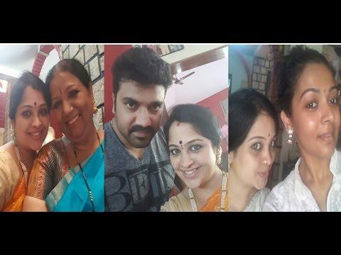 Greeshma Srujan Lokesh Photos | Srujan Lokesh Wife Photos | Majaa Talkies| Filmi news