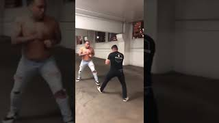 MMA fighter VS Street fighter parking garage
