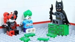 Lego Bank Robbery - Joker