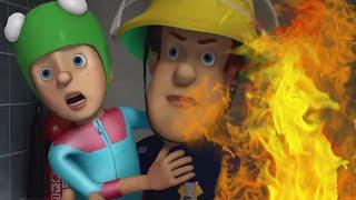 Sam le Pompier ⭐️ Feu dans la cabine! ⭐️ Épisode Complet | Dessin animé