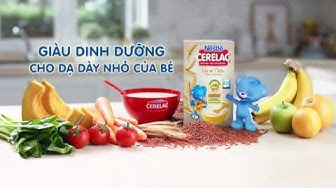 Hướng dẫn pha bột ăn dặm Nestlé CERELAC