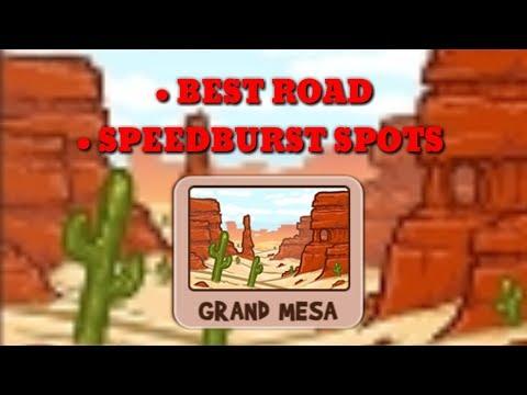 FUN RUN 3 : GRAND MESA | BEST ROAD & SPEEDBURST