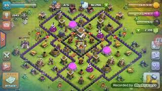 Clash of clans: best army for 200 troop capacity for pushing trophies till master league at th8