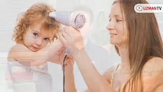 Bebeğimin saçını fön makinası ile kurutabilir miyim?