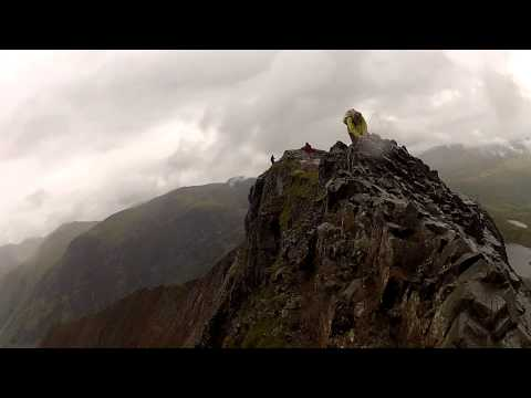 Crib Goch / Gopro - extreme first person view