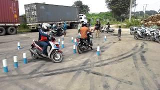 Jawilan pelatihan SAFETY RIDING UJI SIM