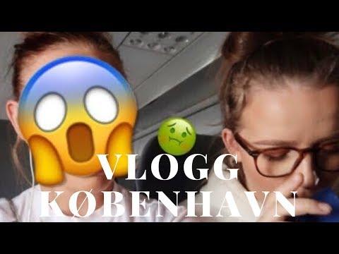 Vlogg | København, Malin kaster opp på flyet, carpool karaoke...