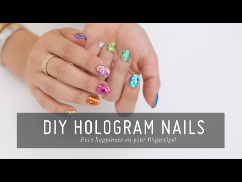 DIY Hologram Nail Art | Nail Tutorial | Beauty | Mr Kate