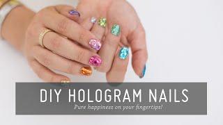 DIY Hologram Nail Art | Nail Tutorial | Beauty | Mr Kate