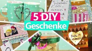 5 DIY Weihnachtsgeschenke selber machen für Eltern, MAMA, PAPA oder die beste Freundin Geschenkideen