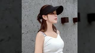 여름 와이드앵글 모자 여성 자외선 차단 야외 레저 피트…