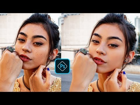 How To Skin Retouch In Photoshop Tutorial [portraiture Plugin]