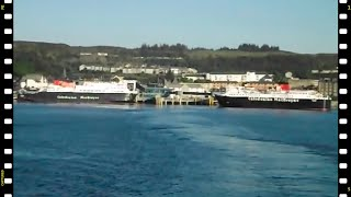 """Departing a """"ferry"""" congested Oban for Castlebay, Barra on M.V. Lord of the Isles"""