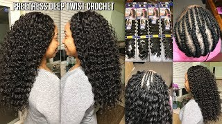 LONG FREETRESS DEEP TWIST CROCHET BRAIDS