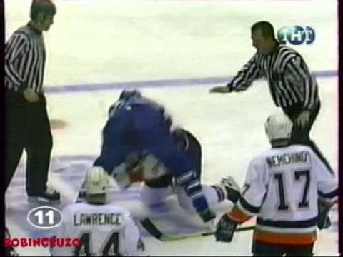Chris McAllister vs  Rich Pilon Feb 25, 1999