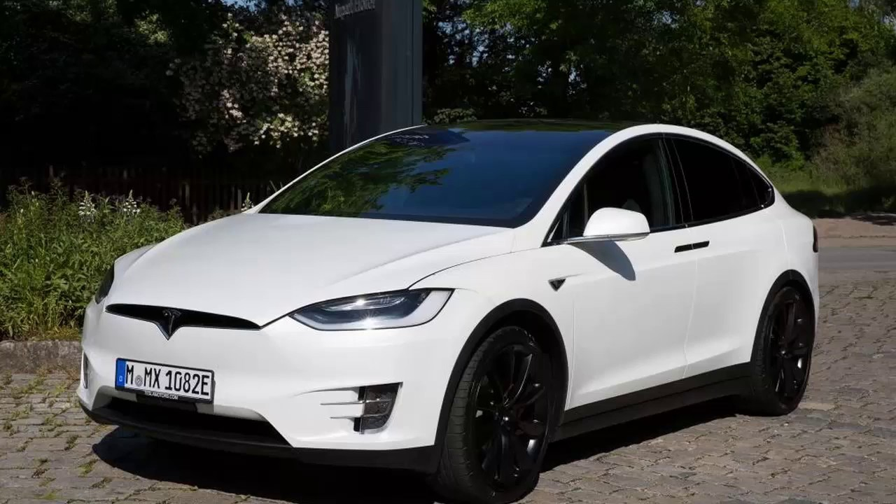 New 2017 Tesla Model X P90d Suv Youtube