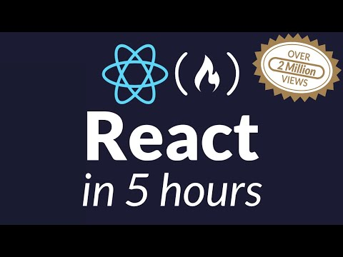 Learn React JS - Full Course for Beginners