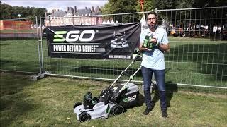 ISEKI FRANCE : Nicolas ROUCHIT, Tondeuse à batterie tractée EGO™ Power+ LM1903E-SP