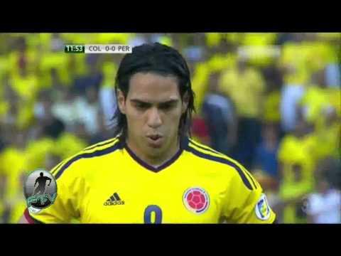 Todos los goles de Radamel Falcao Garcia con la Selección Colombia