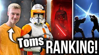 Toms Top 10 Star Wars Filme! | 212th Star Wars Ranking