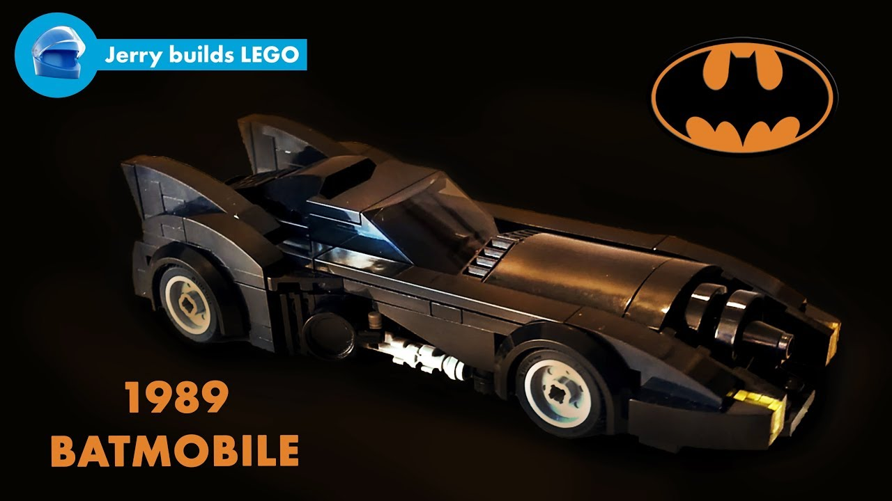 How To Build Lego 1989 Batmobile Moc 4 Youtube