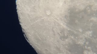 """Massive Light Anomaly Spotted on Moon, Super Zoom, What is it? Meade 8"""" Telescope"""