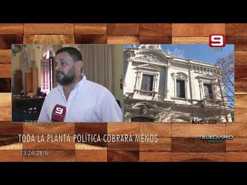 El intendente de Gualeguaychú decidió bajarse el sueldo