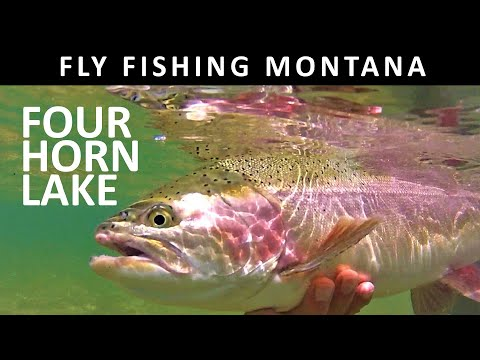 Fly Fishing  Montana: Four Horn Lake (Blackfeet Reservation) -Trailer For Show Amazon Video Season 2