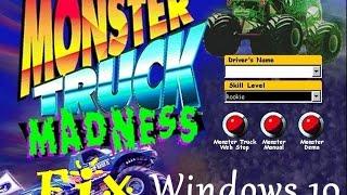 Monster Truck Madness Fix - Windows 10 (x64)