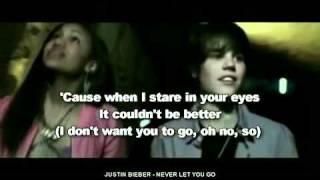 Justin Bieber ~ Never Let You Go Instrumental (Karaoke)