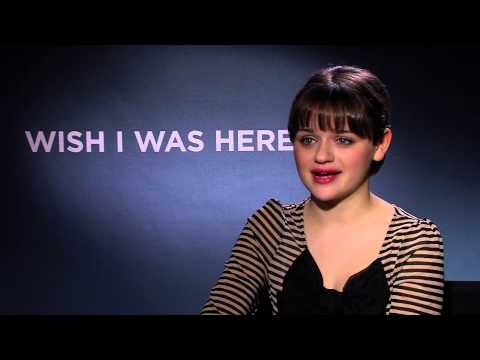 Joey King interview - Wish I Was Here - YouTube