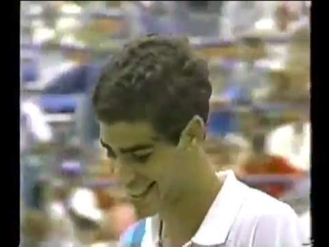 The Arrival of Pete Sampras : Sampras vs Lendl (1990 US Open QF)