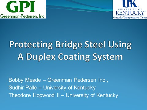 10 - MWBPP15 - Protecting Bridge Steel Using A Duplex Coating System