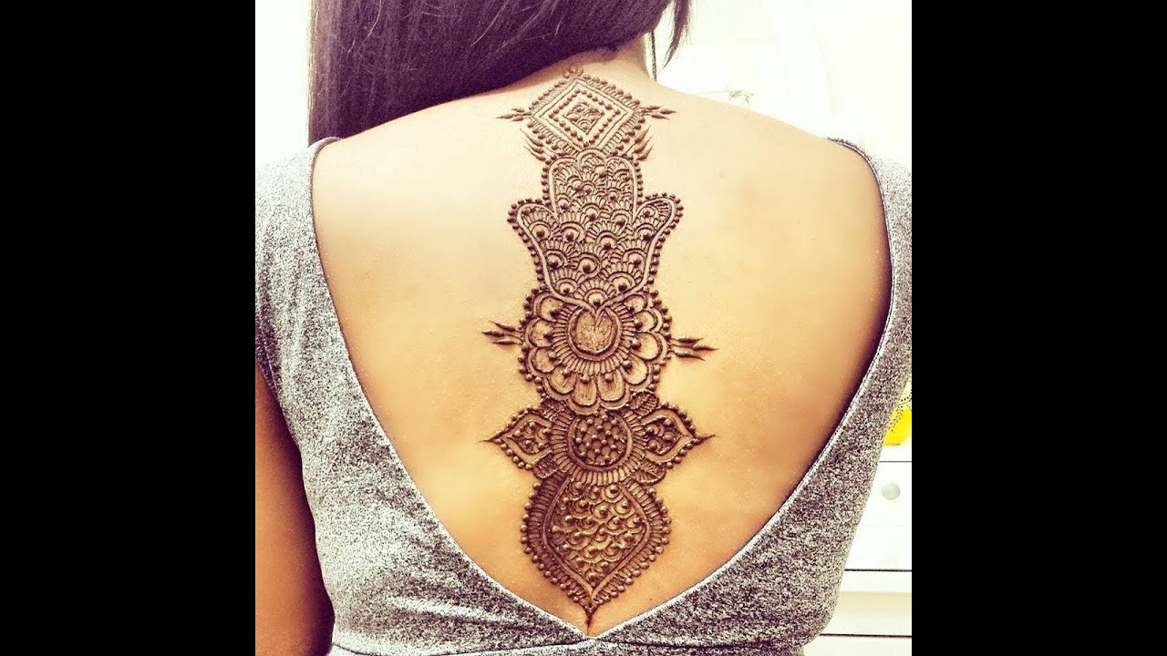 DIY: How to do henna canvas design ...henna/mehndi design - YouTube