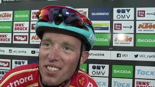 VM 2018: Jesper Hansen med 25 kilometer til mål