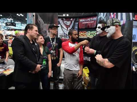 Haunted High Ons Creative Team Interview (Twiztid, Dirk Manning) | The Comics Pals @ NYCC 2017