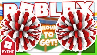 [EVENT] How to get the ROBLOX POM-POMS | Roblox Kick Off