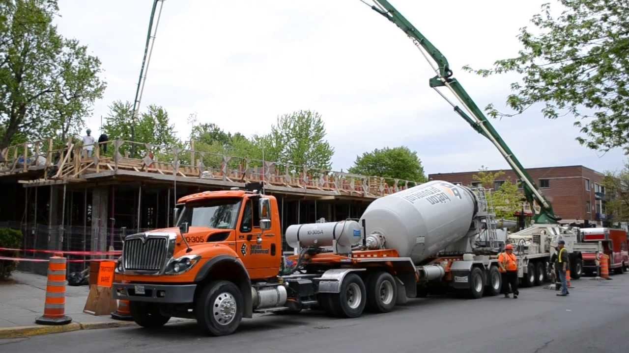 Mack Cabover Boom Truck International Semi Cement Truck