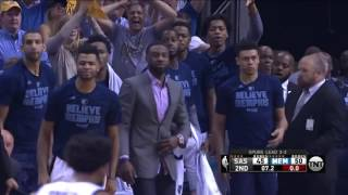 Mike Conley highlights - Grizzlies vs Spurs | Game 6 | April 27, 2017 | #NBAPlayoffs
