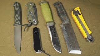 Немного мыслей по разным ножам