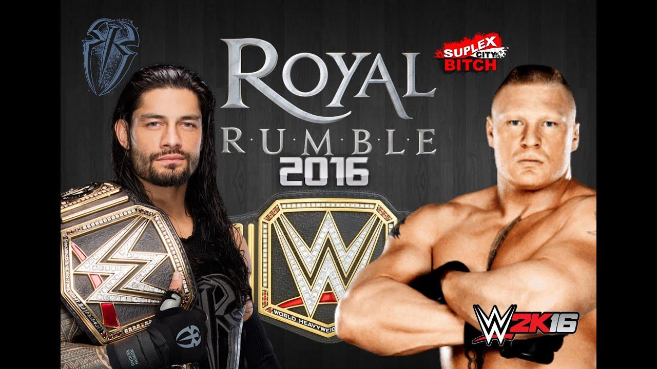Kết quả hình ảnh cho WWE Royal Rumble 2016