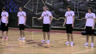 High School Talent show performance. Guys dancing to Beyonce, T swift etc.