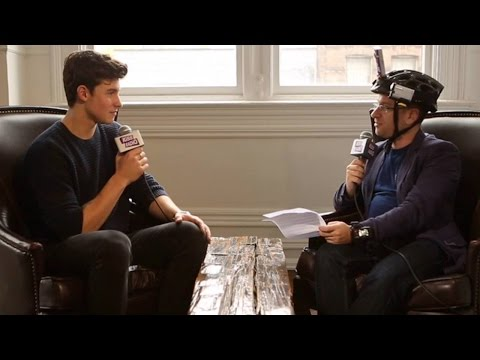 Shawn Mendes Talks to Damnit Maurie at...